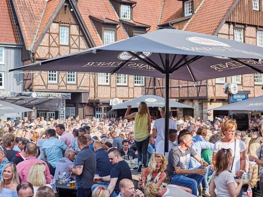 Single- und Freundeskreis im Dorf Münsterland